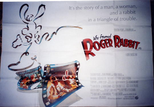 Who Framed Roger Rabbit - British Quad Poster
