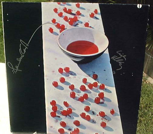 "Wings ""McCartney"" signed Paul & Linda McCartney & Denny Laine."