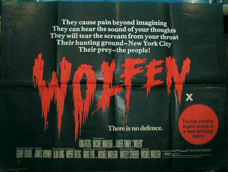 Wolfen - Movie Poster