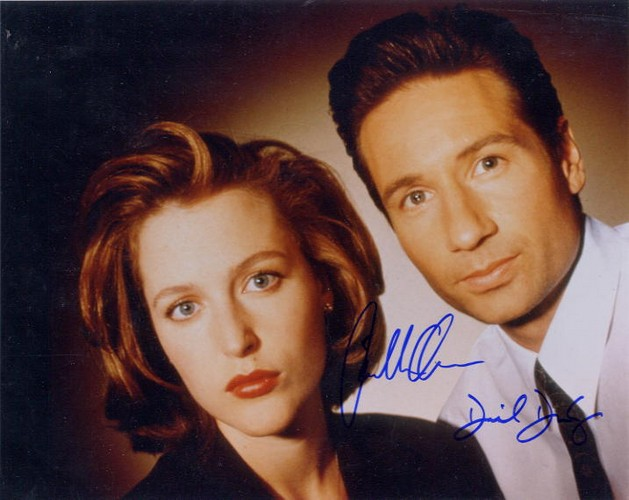 X-Files, Duchovny & Anderson