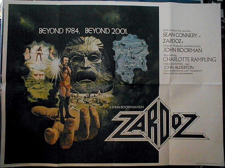 Zardoz - Movie Poster