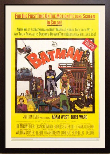 Batman - 1966 - US 1 sheet Movie Poster <b> SOLD</b>