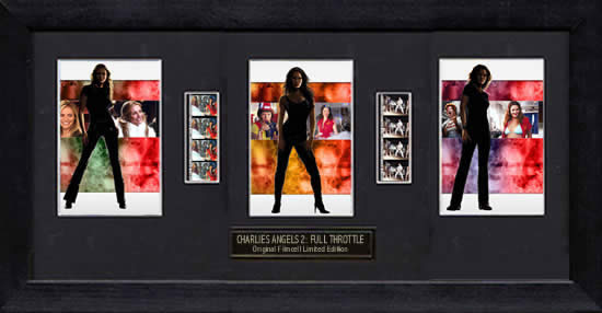 Charlies Angels 2 - Trio (FC1097) film cell display